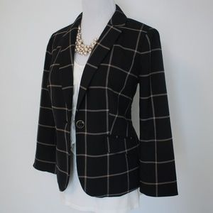THE LIMITED Small Black Suit Blazer Jacket Tan